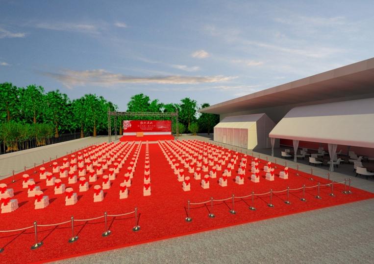 2012年4月16日联合包装新厂房落成典礼